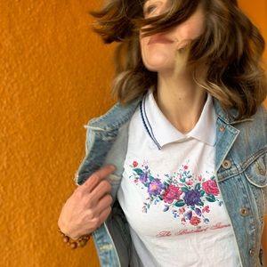 Tops - Butchart Gardens Collard T-Shirt